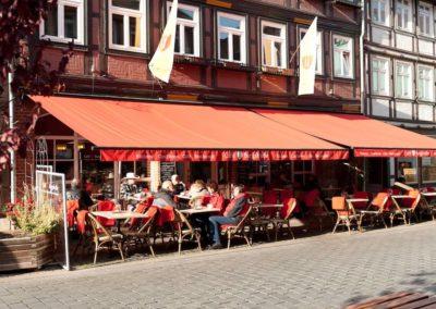 Cafe Burgstrasse Wernigerode